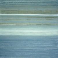 blue white texture - 2012 - 100 x 80 cm - Acryl auf Leinwand